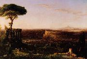 Thomas Cole Italian Scene, Composition oil painting reproduction