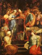 Rosso Fiorentino Marriage of The Virgin oil painting