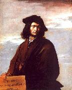 Salvator Rosa Self Portrait bbb oil painting