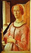 Sandro Botticelli Portrait of a Lady oil painting