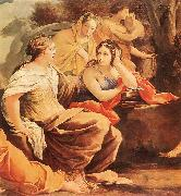 Parnassus or Apollo and the Muses, Simon Vouet