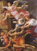 Saturn, Conquered by Amor, Venus and Hope, Simon Vouet