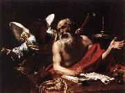St Jerome and the Angel, Simon Vouet