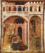 Simone Martini Miracle of Fire oil painting
