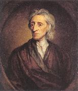 Sir Godfrey Kneller John Locke oil painting
