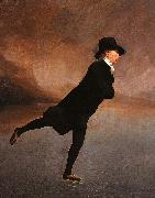 Sir Henry Raeburn The Reverend Robert Walker Skating oil painting on canvas