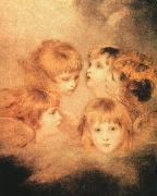 Sir Joshua Reynolds Heads of Angels USA oil painting reproduction