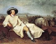 Goethe in The Roman Campagna iuh