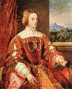 Empress Isabel of Portugal r, TIZIANO Vecellio