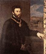 Portrait of Count Antonio Porcia t, TIZIANO Vecellio