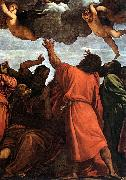 Assumption of the Virgin (detail) rt, TIZIANO Vecellio