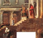 Presentation of the Virgin at the Temple (detail) er, TIZIANO Vecellio