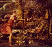 Death of Actaeon jhfy, TIZIANO Vecellio