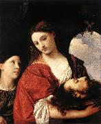 Judith with the Head of Holofernes qrt, TIZIANO Vecellio