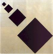 Theo van Doesburg Arithmetic Composition oil painting