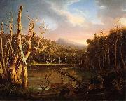 Lake with Dead Trees, Thomas Cole