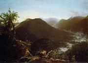 Thomas Cole Sunrise in the  Catskill oil painting