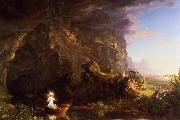 Thomas Cole The Voyage of Life Childhood oil painting on canvas