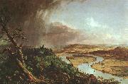 Thomas Cole The Connecticut River near Northampton oil painting on canvas