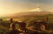 Mount Etna from Taormina