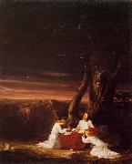 Angels Ministering to Christ in the Wilderness, Thomas Cole