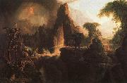 Thomas Cole Expulsion From the Garden of Eden oil painting reproduction