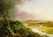 'The Ox Bow' of the Connecticut River near Northampton, Massachusetts, Thomas Cole
