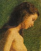 Thomas Eakins Study of a Girl Head oil painting artist