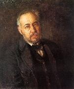 Thomas Eakins Self Portrait  hbn oil painting