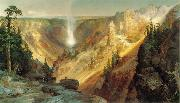 Thomas Moran Grand Canyon of the Yellowstone oil painting