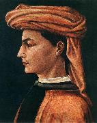 Portrait of a Young Man wt, UCCELLO, Paolo