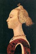Portrait of a Lady at, UCCELLO, Paolo