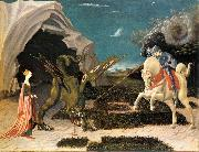 St. George and the Dragon at, UCCELLO, Paolo