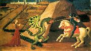 St George and the Dragon qt, UCCELLO, Paolo