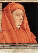UCCELLO, Paolo Five Famous Men (detail) r oil painting