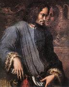 VASARI, Giorgio Portrait of Lorenzo the Magnificent wr oil painting