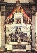 VASARI, Giorgio Monument to Michelangelo ar oil painting