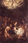 VASARI, Giorgio The Nativity  wt oil painting