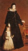 Doua Antonia de Ipeuarrieta y Galds and her Son Luis t