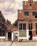 The Little Street st, VERMEER VAN DELFT, Jan