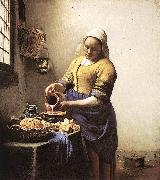 The Milkmaid yi, VERMEER VAN DELFT, Jan