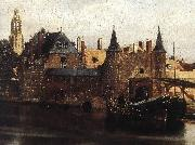 View of Delft (detail) et, VERMEER VAN DELFT, Jan