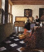A Lady at the Virginals with a Gentleman wt, VERMEER VAN DELFT, Jan
