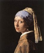 Girl with a Pearl Earring er, VERMEER VAN DELFT, Jan