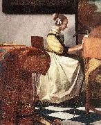 The Concert (detail) rey, VERMEER VAN DELFT, Jan