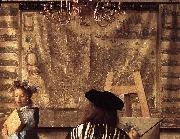 The Art of Painting (detail) est, VERMEER VAN DELFT, Jan