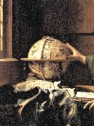 The Astronomer (detail) wet, VERMEER VAN DELFT, Jan