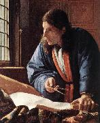 The Geographer (detail) jug, VERMEER VAN DELFT, Jan