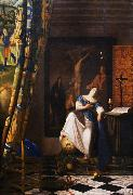 The Allegory of the Faith wet, VERMEER VAN DELFT, Jan