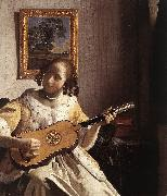 The Guitar Player t, VERMEER VAN DELFT, Jan